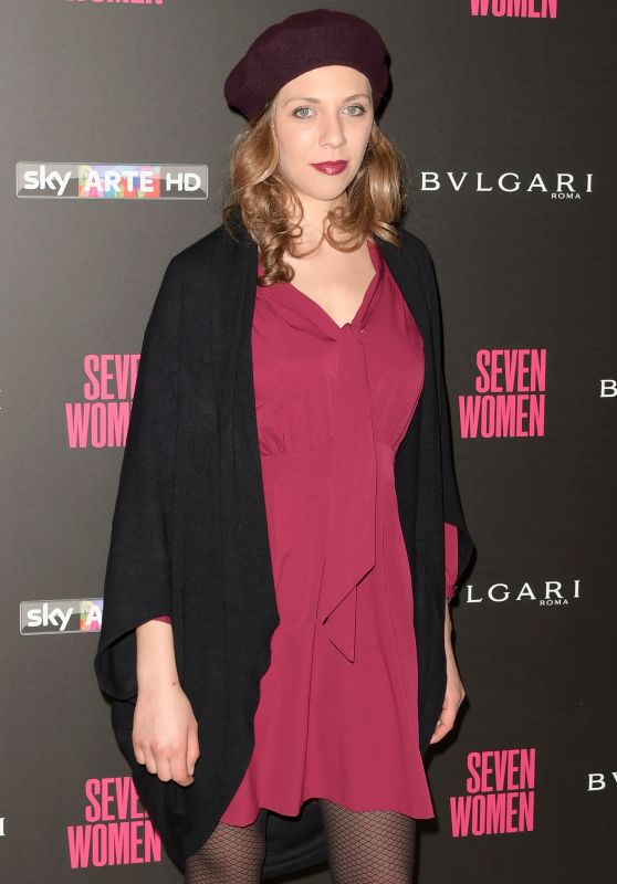 "Barbara Chichiarelli – ""Seven Women"" Docu-film Premiere in Rome"