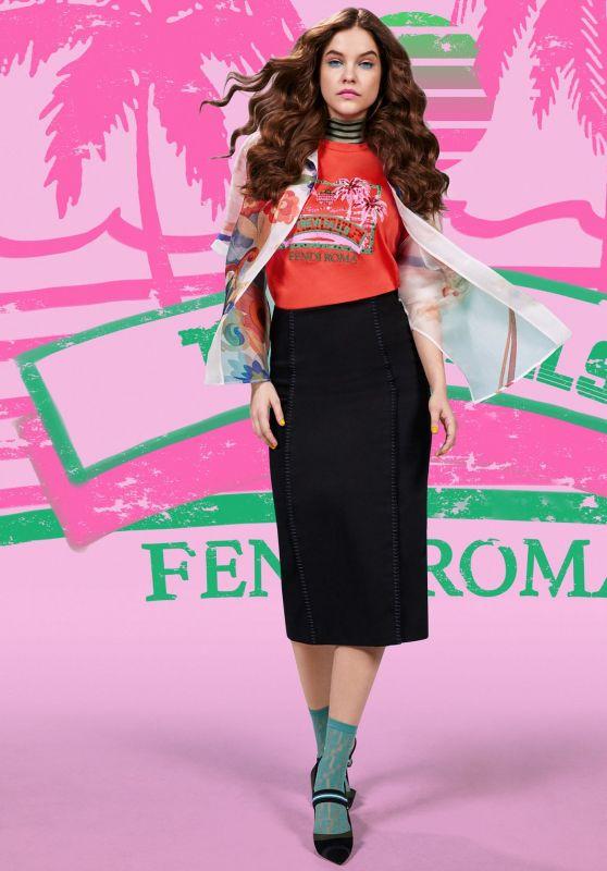 Barbara Palvin- Photoshoot for Fendi Pop Tour Spring 2018 Campaign