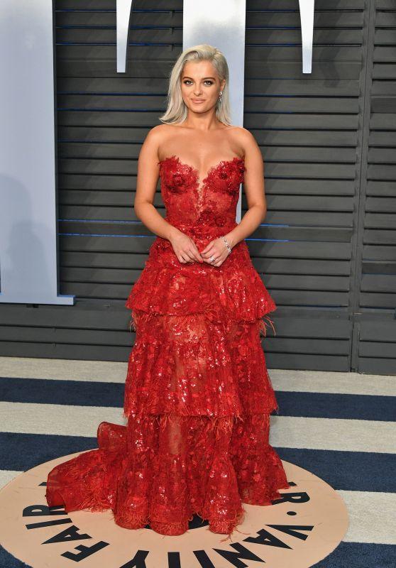 Bebe Rexha – 2018 Vanity Fair Oscar Party in Beverly Hills