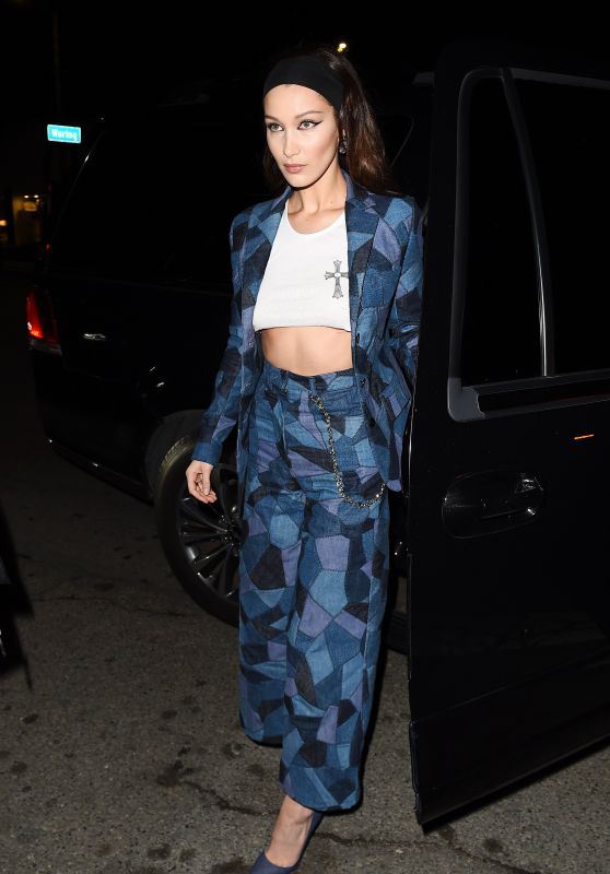 Bella Hadid - Dior Addict Lacquer Pump Launch Party in West Hollywood