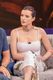 Bella Thorne Appeared on Despierta America Morning Show in Miami 03/19/2018