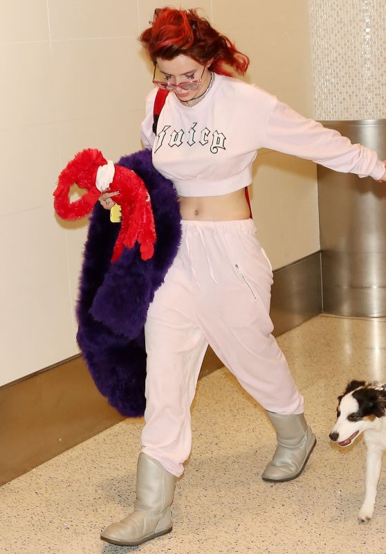 Bella Thorne at LAX Airport in LA 03/12/2018
