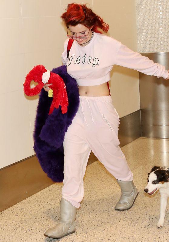 Bella Thorne at LAX Airport in LA 03/12/2018