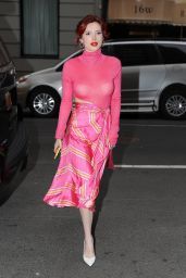 Bella Thorne - Leaving Tonight Show Starring Jimmy Fallon in NYC 03/20/2018