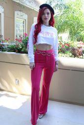 """Bella Thorne - """"Midnight Sun"""" Press Conference in LA"""