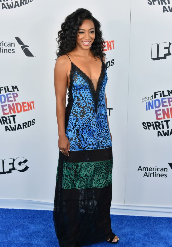 Betty Gabriel – 2018 Film Independent Spirit Awards in Santa Monica