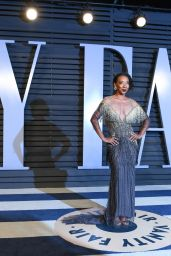 Betty Gabriel – 2018 Vanity Fair Oscar Party in Beverly Hills