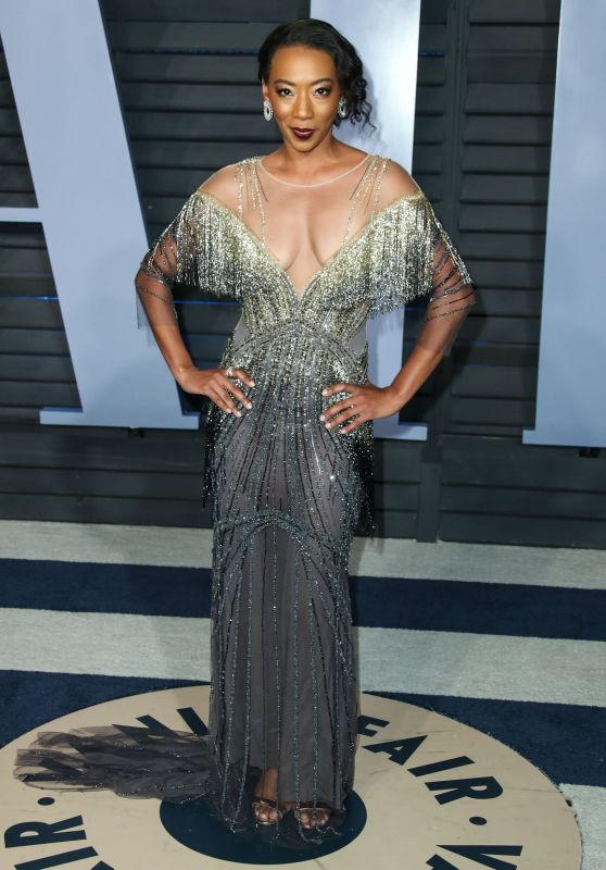 Betty Gabriel – 2018 Vanity Fair Oscar Party in Beverly Hills