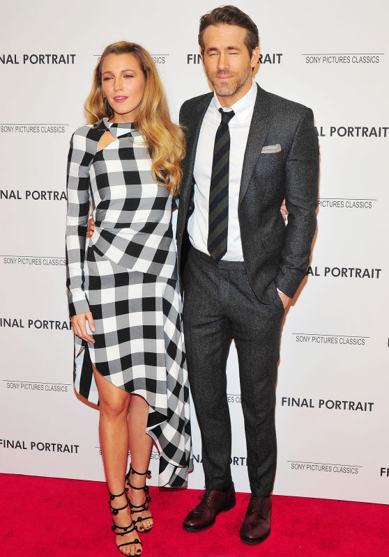 "Blake Lively and Ryan Reynolds - ""Final Portrait"" Screening After Party in New York City"