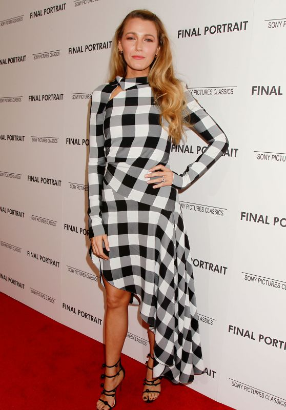 "Blake Lively - ""Final Portrait"" Screening in NYC"