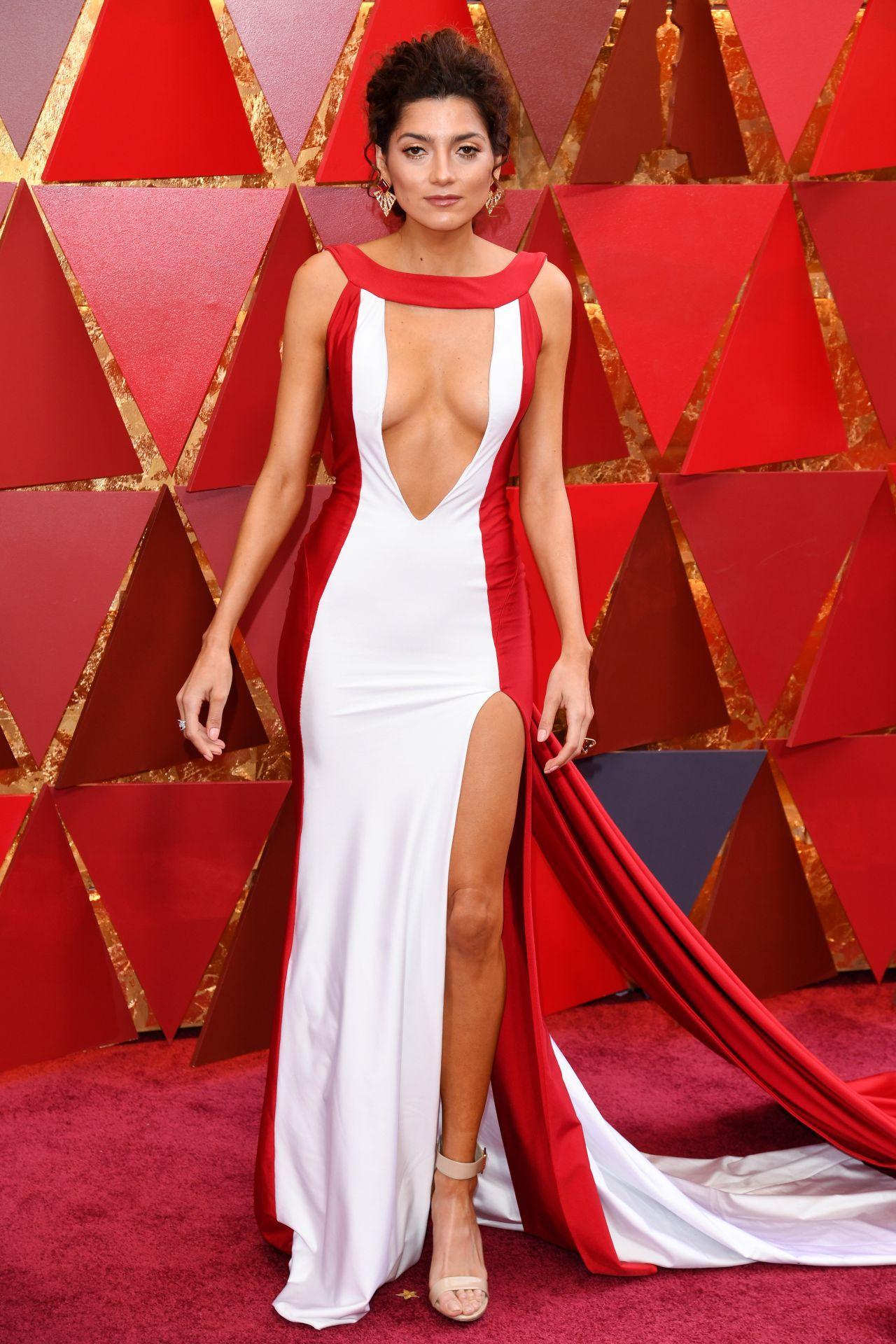Blanca Blanco Oscars 2018 Red Carpet