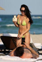 Bre Tiesi Shows Off Her Bikini Body in Miami, February 2018