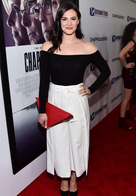 """Briana Lane – """"Chappaquiddick"""" Premiere in LA"""