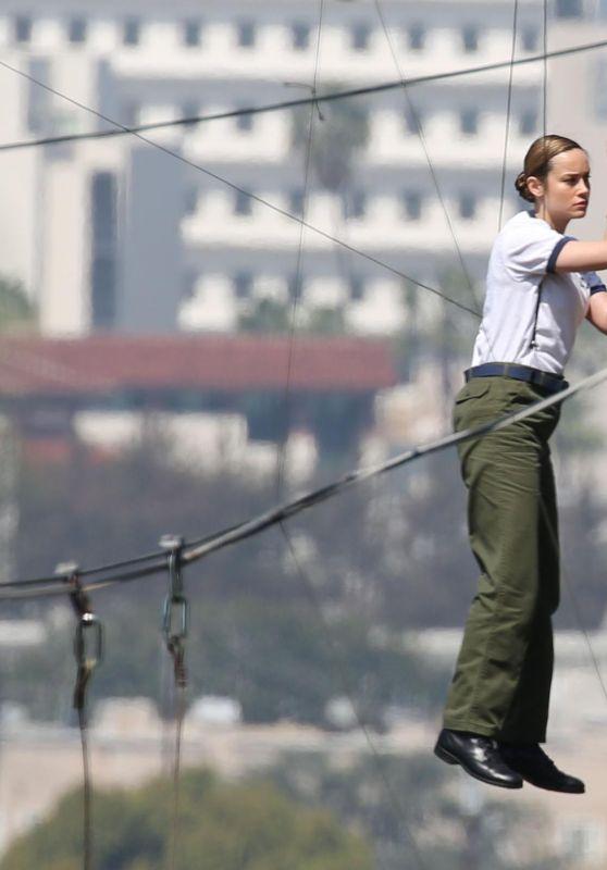 """Brie Larson as Carol Danvers - """"Captain Marvel"""" Set in Los Angeles 03/29/2018"""