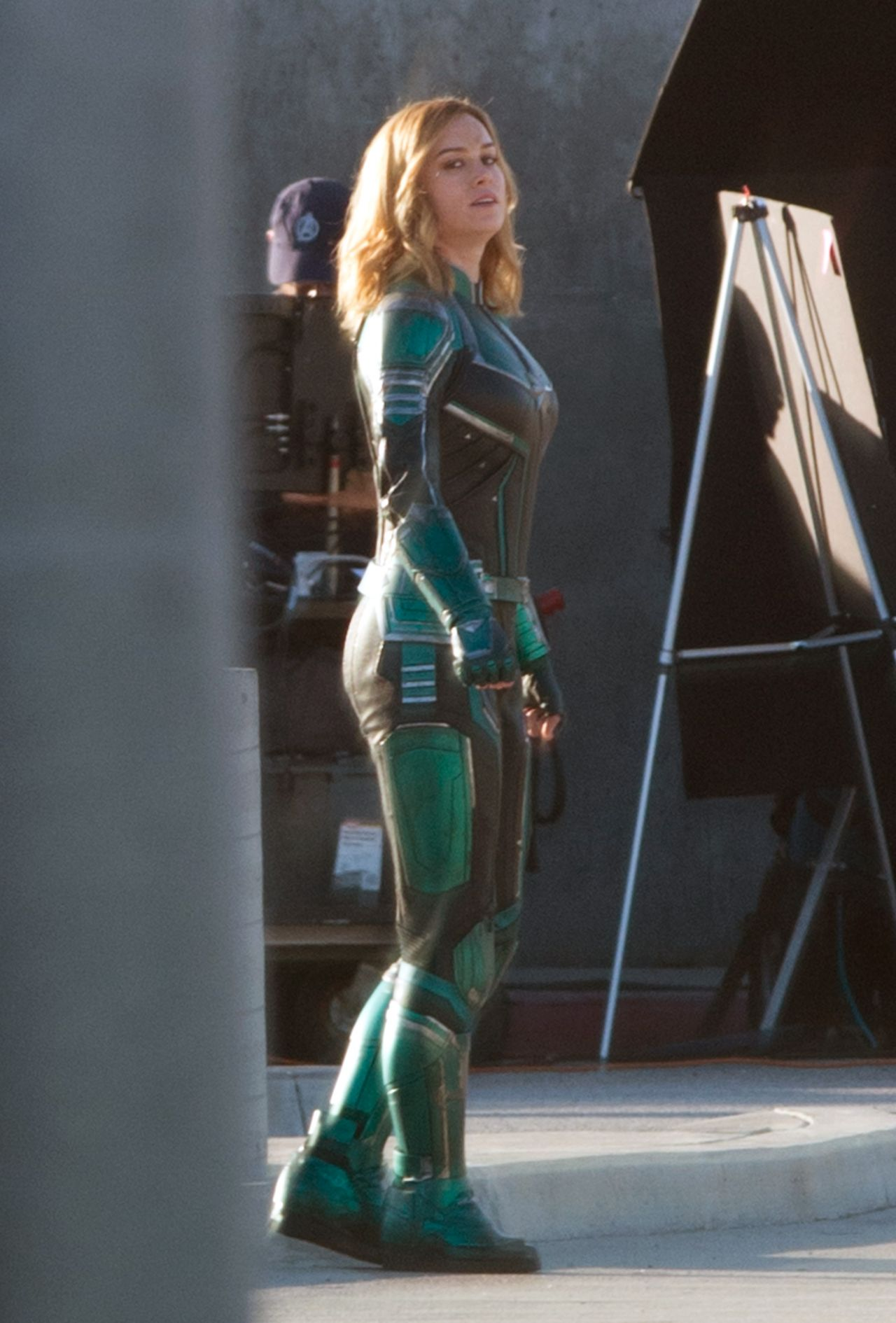 Brie Larson Quot Captain Marvel Quot Set In Los Angeles 03 19 2018
