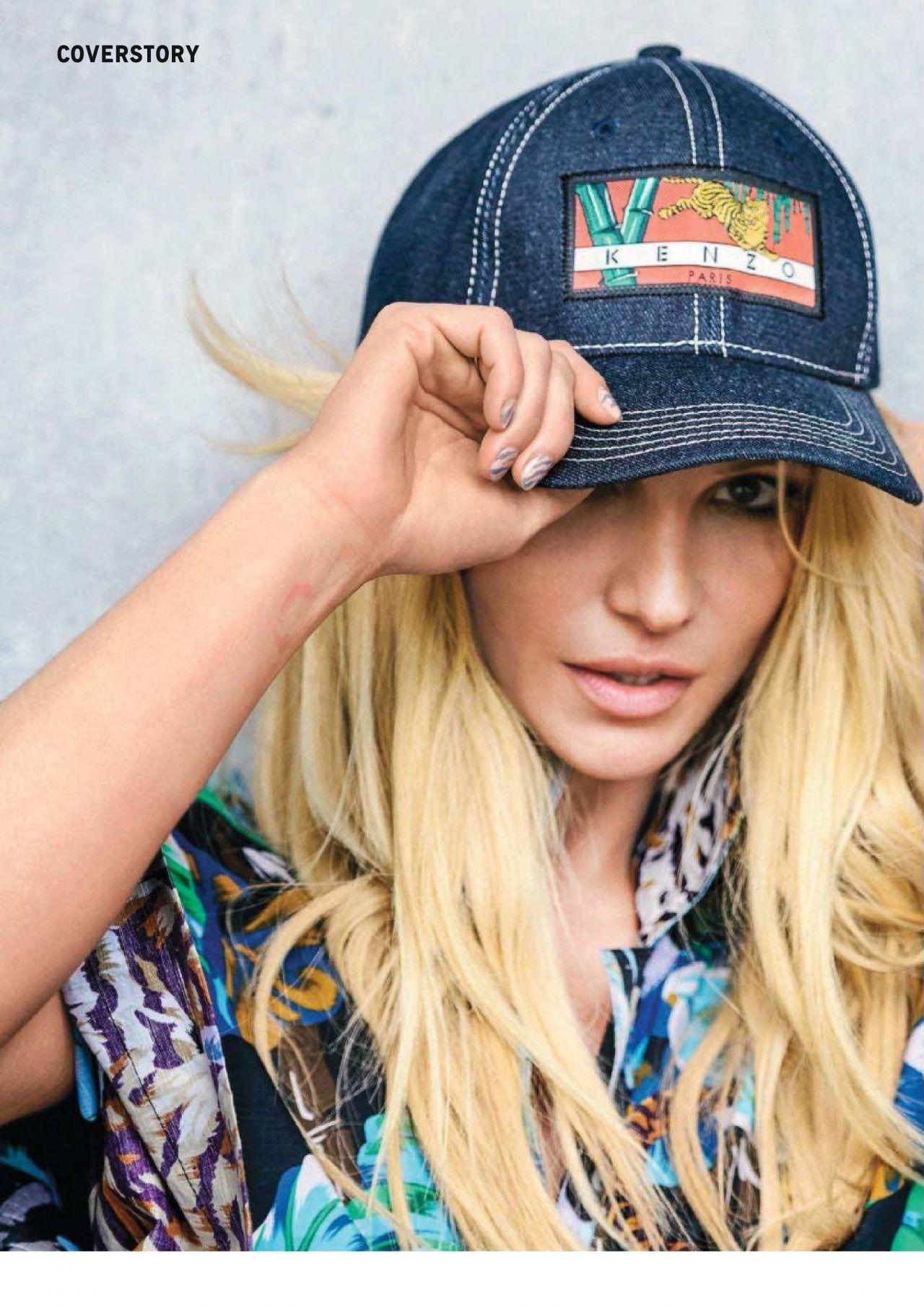 Britney Spears - Grazia France March 2018