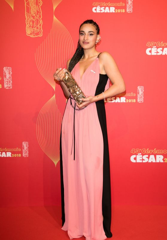 Camelia Jordana – Cesar Film Awards 2018 in Paris