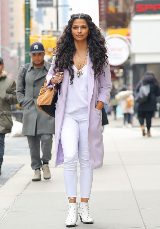 Camila Alves - Arriving at the Hearst Magazines Office in NYC