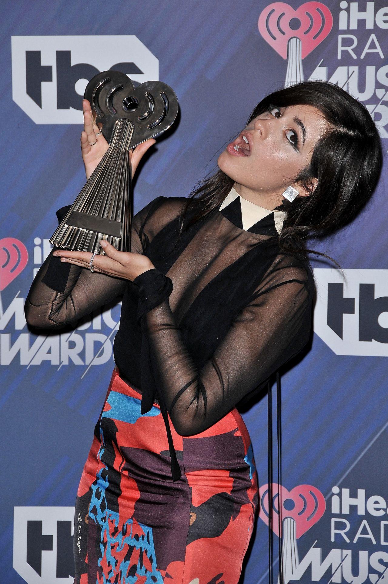 Camila Cabello – 2018 iHeartRadio Music Awards in Inglewood
