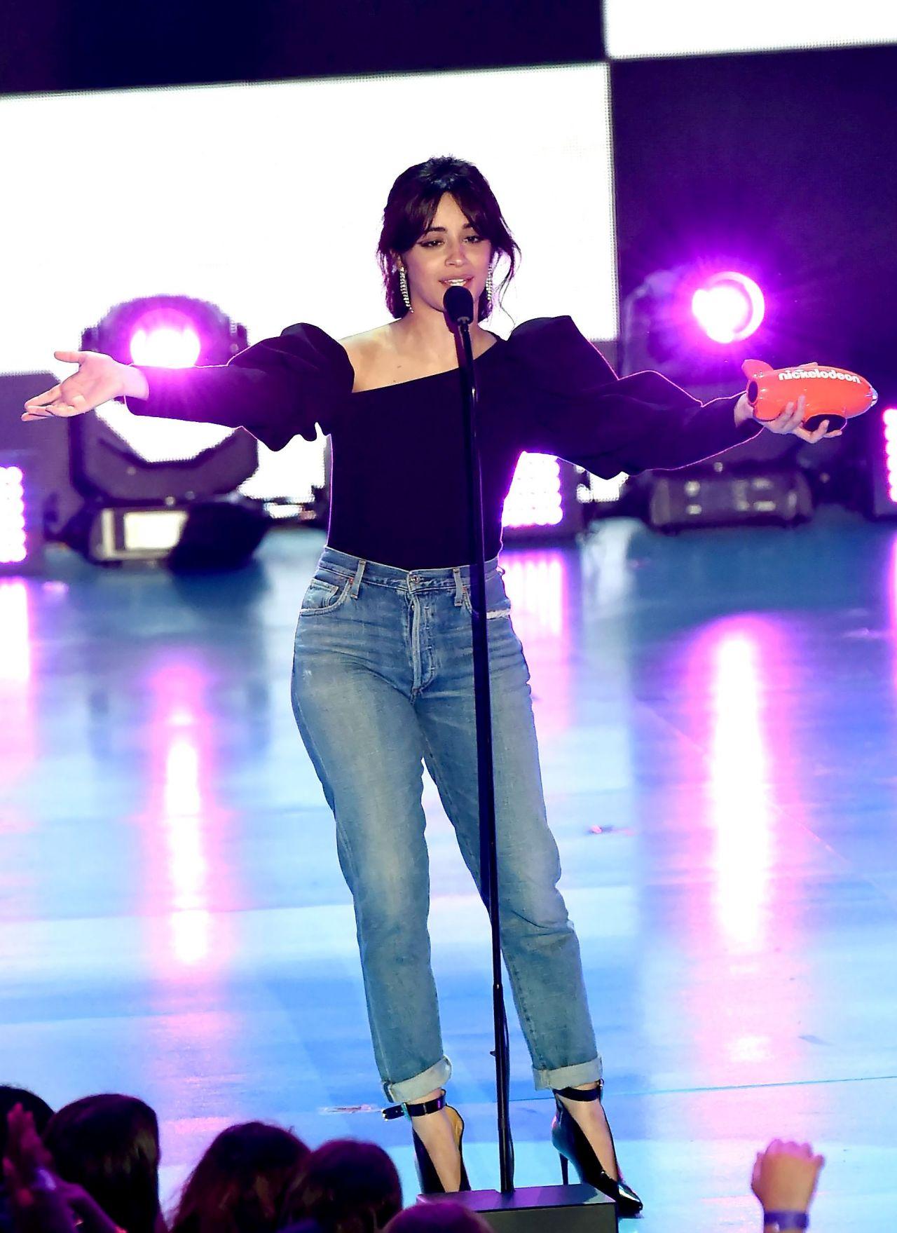 Camila Cabello 2018 Nickelodeon Kids Choice Awards