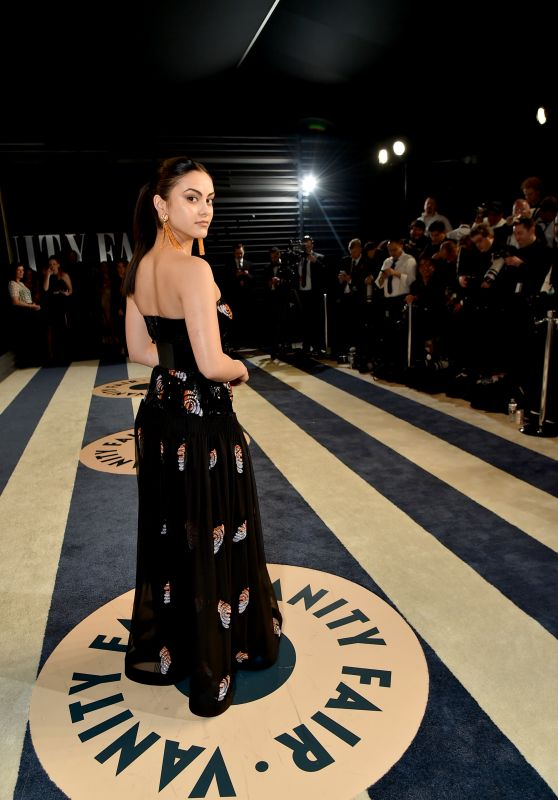 Camila Mendes – 2018 Vanity Fair Oscar Party in Beverly Hills