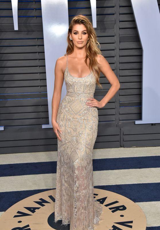 Camila Morrone – 2018 Vanity Fair Oscar Party in Beverly Hills