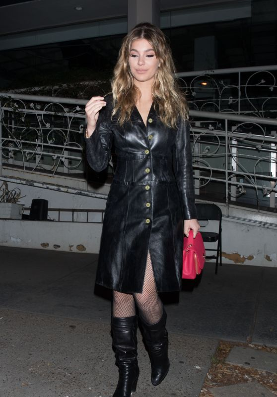 Camila Morrone Night Out Style - Madeo Ristorante in West Hollywood 02/28/2018