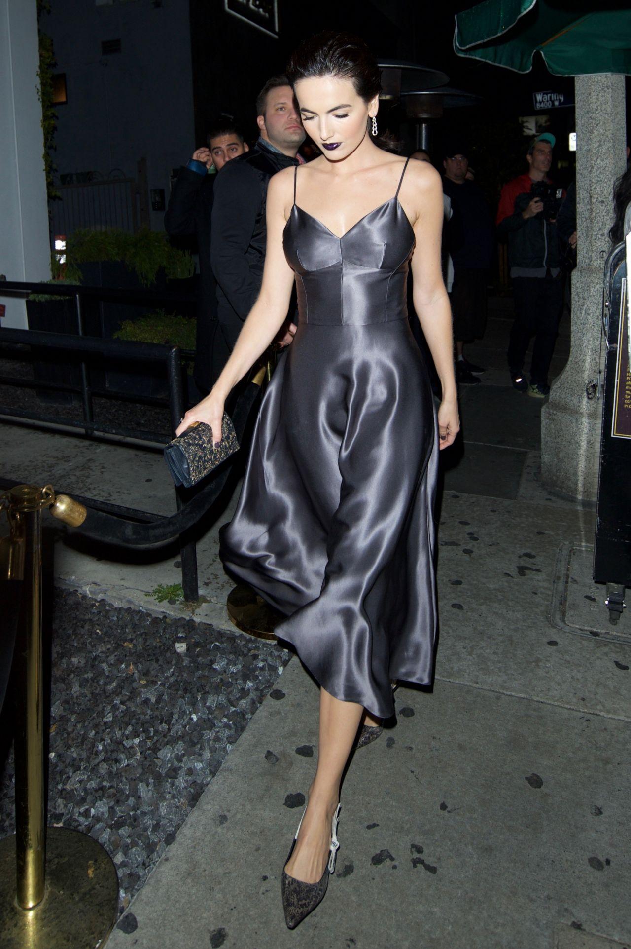 Camilla Belle Dior Addict Lacquer Plump Event In La