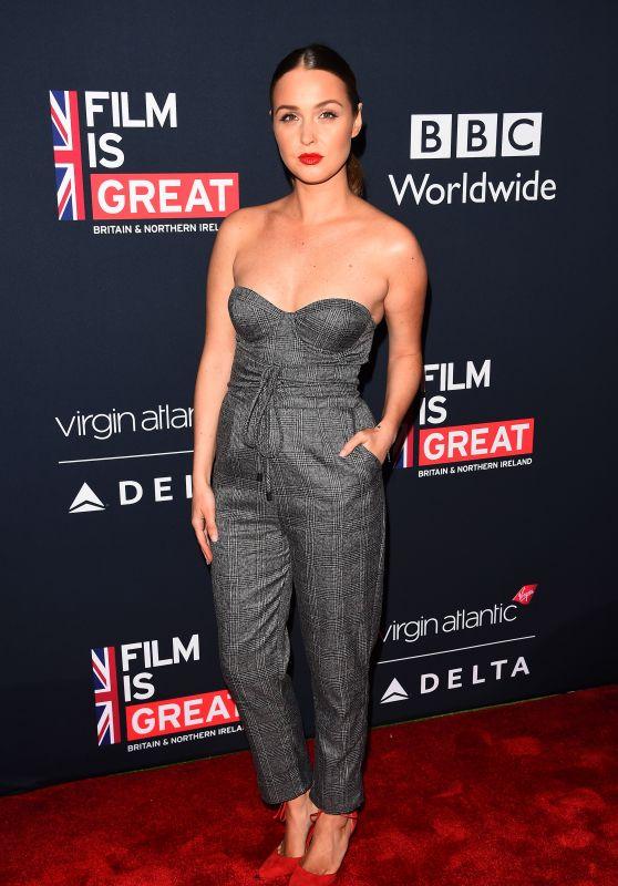 Camilla Luddington – Film is GREAT Reception to Honor British Oscar Nominee in LA 03/02/2018
