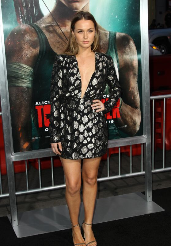 "Camilla Luddington – ""Tomb Raider"" Premiere in Hollywood"