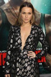 """Camilla Luddington – """"Tomb Raider"""" Premiere in Hollywood"""
