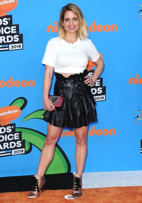 Candace Cameron Bure – 2018 Nickelodeon Kids' Choice Awards