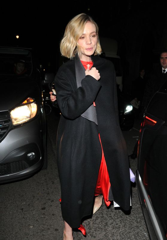 Carey Mulligan - Self-Portrait Store Opening Party in London