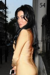 Carla Howe Night Out Style - Mayfair Magazine Party in London