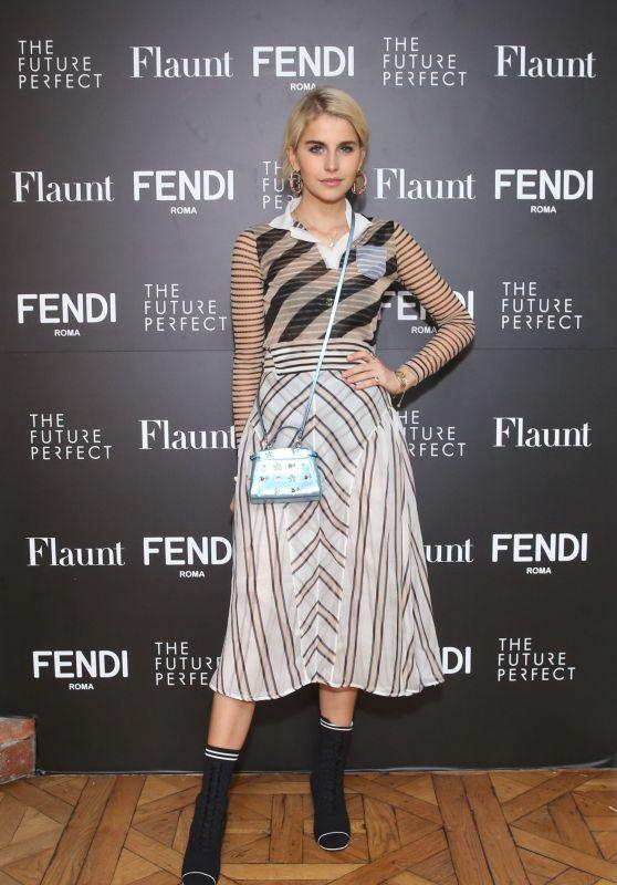 Caroline Daur – Fendi X Flaunt Celebrate the New Fantasy Issue in LA