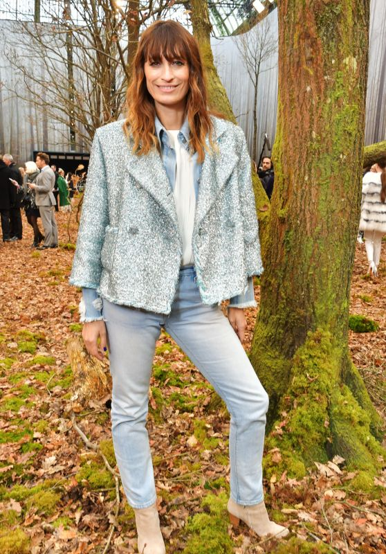 Caroline de Maigret – Chanel Fashion Show FW18 in Paris
