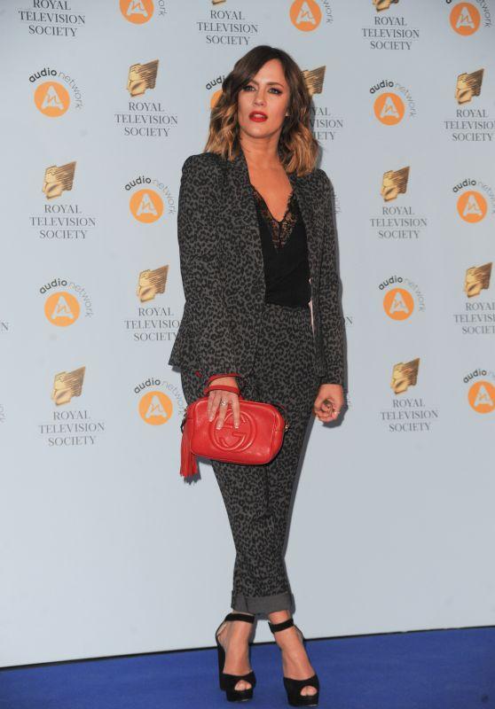 Caroline Flack – 2018 RTS Programme Awards in London