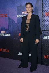 "Carrie-Anne Moss -""Jessica Jones"" Season 2 Premiere in NYC"