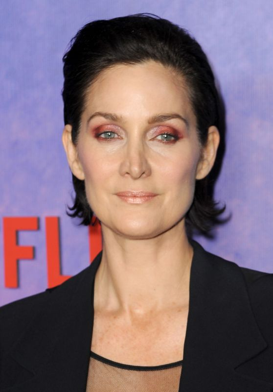 "Carrie-Anne Moss -""Jessica Jones"" Season 2 Premiere in NYC"