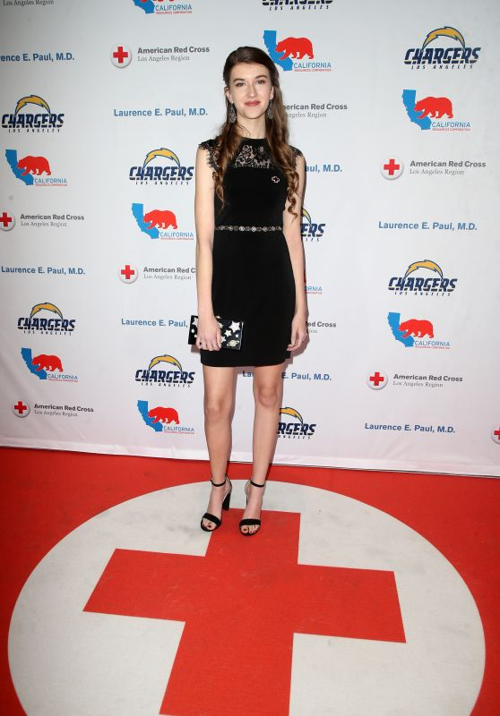 Casey Burke – Red Cross Los Angeles Humanitarian Awards 2018