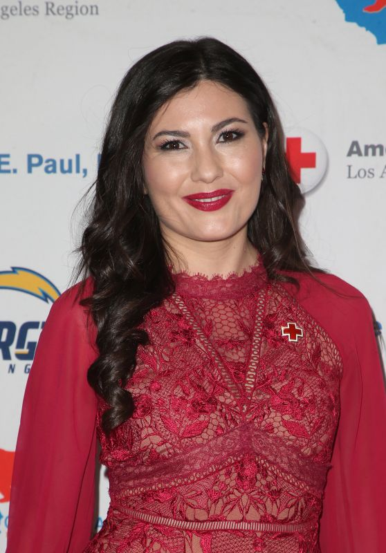 Celeste Thorson – Red Cross Los Angeles Humanitarian Awards 2018