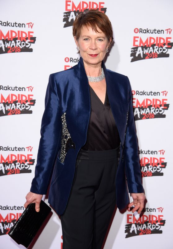Celia Imrie – 2018 Empire Film Awards in London