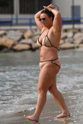 Chanelle Hayes in Bikini in Alicante 03/28/2018