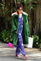 Charli XCX - Leaves Diane Von Furstenburgs Oscar Luncheon in LA