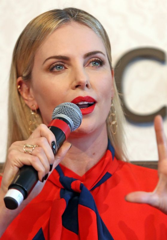 Charlize Theron - Global Education and Skills Forum 2018 in Dubai