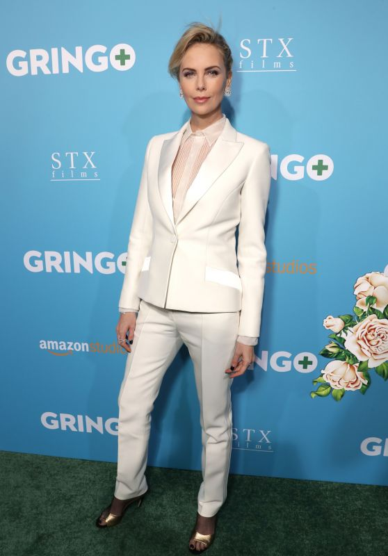 """Charlize Theron - """"Gringo"""" Premiere in Los Angeles"""