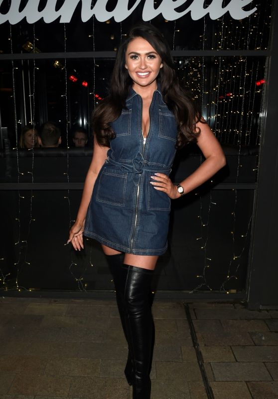 Charlotte Dawson - Cocktails and Carbs Launch in Manchester