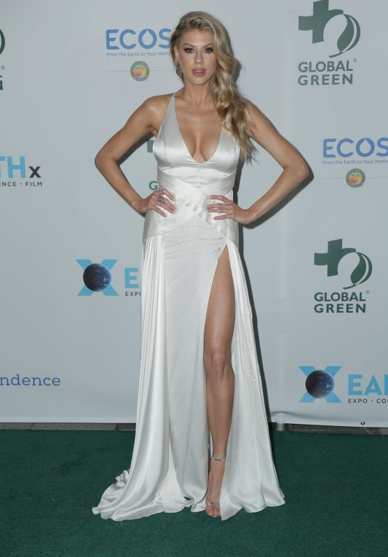 Charlotte McKinney - 2018 Academy Awards Global Green Pre-Oscars Party in LA