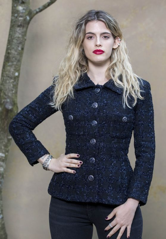 Chiara Parravicini – Chanel Fashion Show FW18 in Paris