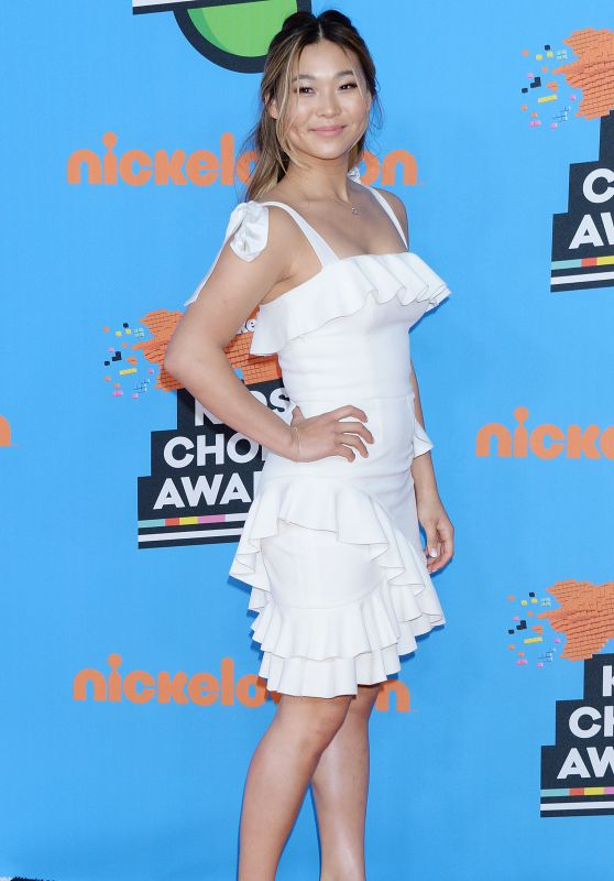 Chloe Kim – 2018 Nickelodeon Kids' Choice Awards